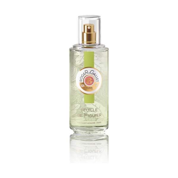 Eau de Parfum Feuille de Figuier, Roger&Gallet,vaporisateur 30 ml, prix indicatif : 20 €
