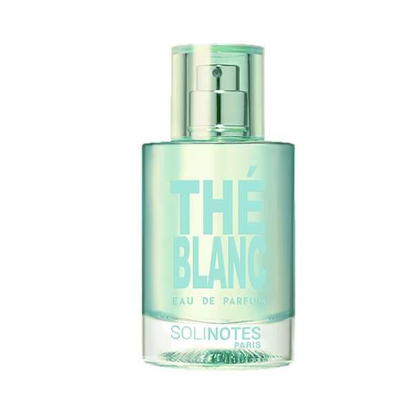 Eau de Parfum Thé Blanc, Solinotes, vaporisateur 50 ml, prix indicatif : 11,95 €
