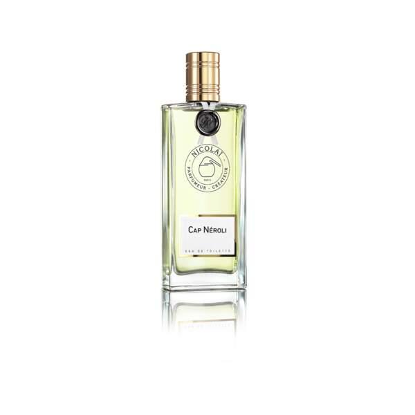 Eau de Toilette Cap Néroli, Parfums de Nicolaï, vaporisateur 100 ml, prix indicatif : 125 €
