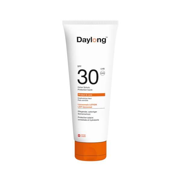 Lait Liposomal SPF 30 - Visage et Corps, Daylong, tube 100 ml, prix indicatif : 15,40 €
