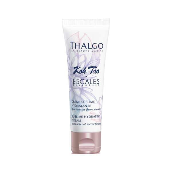Koh Tao - Crème Sublime Hydratante, Thalgo, tube 40 ml, prix indicatif : 25 €