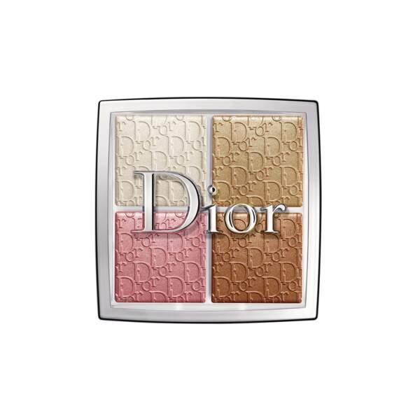 Dior Backstage - Glow Face Palette, Dior, x 4 ombres, prix indicatif : 46,99 €