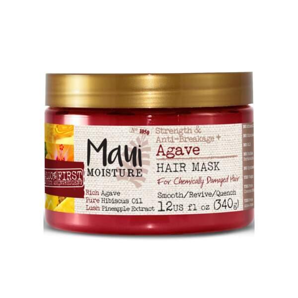 Agave - Masque Anti-Casse, Maui Moisture, pot 340 g, prix indicatif : 11,99 €