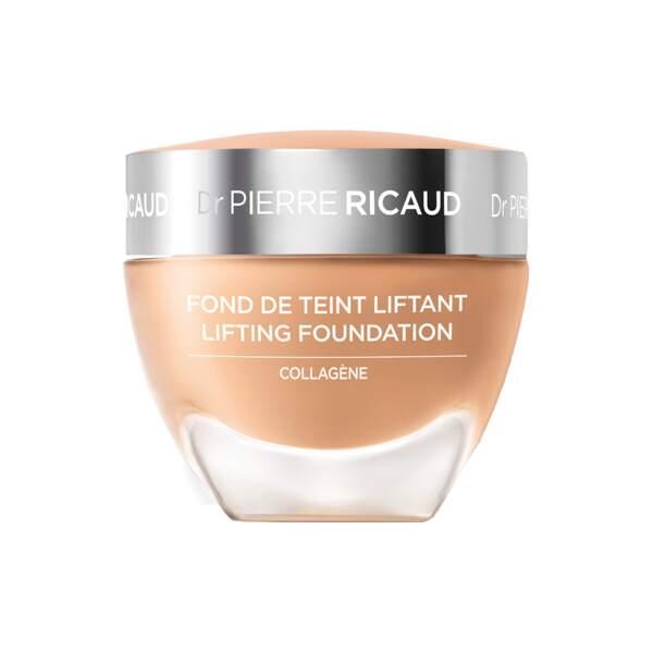Fond de Teint Liftant au Collagène, Dr Pierre Ricaud, pot 40 ml, prix indicatif : 35 €