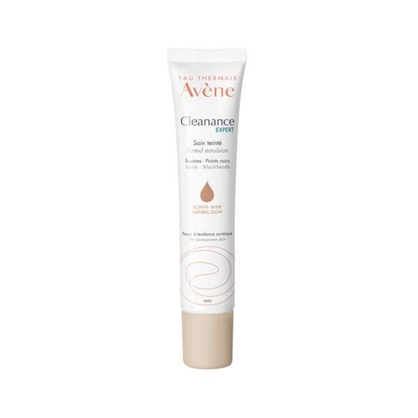 Cleanance Expert - Soin Teinté, Avène, tube 40 ml, prix indicatif : 13,55 €