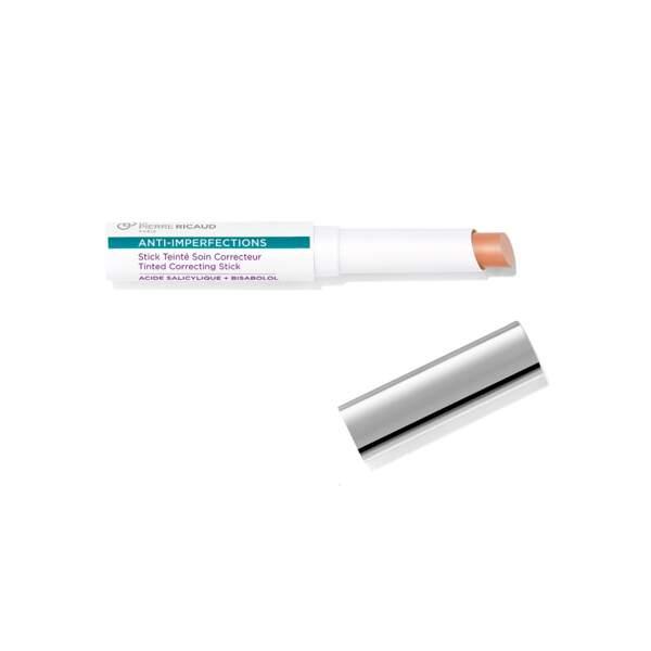 Anti-Imperfections - Stick Teinté Soin Correcteur, Dr Pierre Ricaud, stick 1,4 g, prix indicatif : 13 €