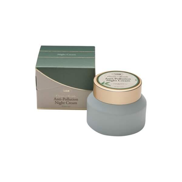 Ocean Secrets Anti-Pollution - Crème de Nuit, Sabon, pot 50 ml, prix indicatif : 27,50 €