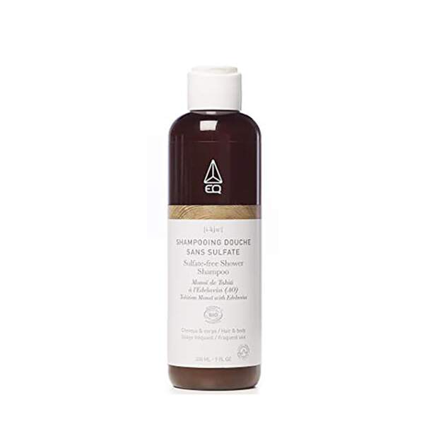 Shampooing Douche Sans Sulfate, EQ, flacon 100 ml, prix indicatif : 8,81 €
