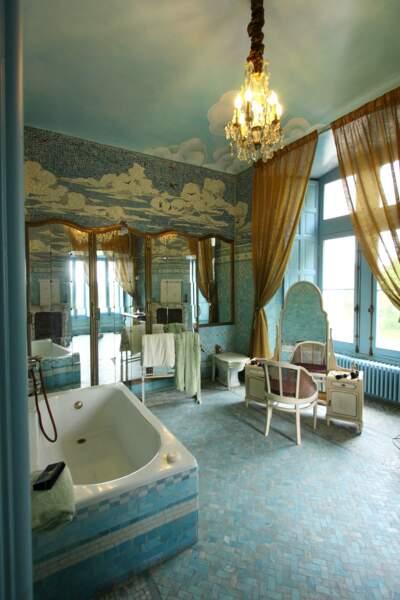 Salle de bains au château de Candé