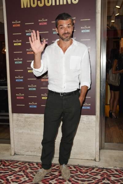 """Le comédien italien de 42 ans, connu pour son rôle d'Andrea Fanti, dans la série """"Doc"""", diffusée sur TF1, a rencontré sa moitié."""