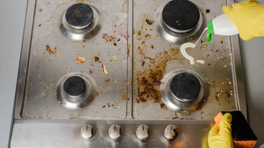 3 astuces pour bien nettoyer mes plaques de cuisson