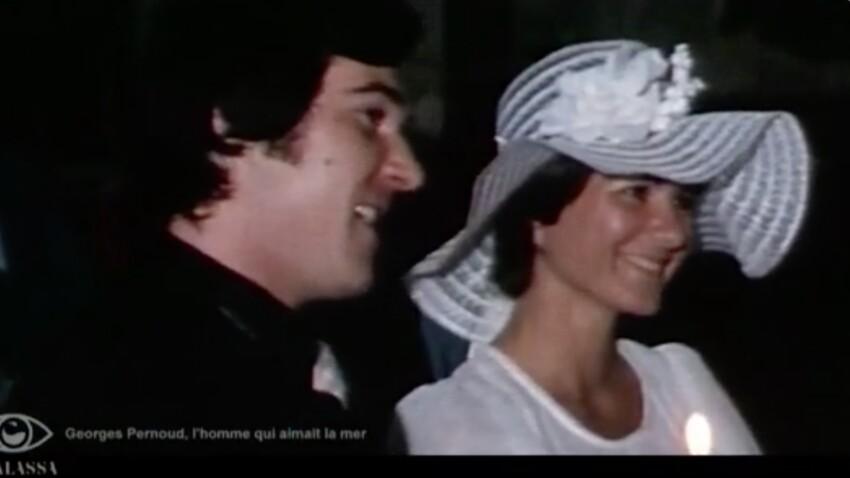 """Georges Pernoud : les images émouvantes de son mariage avec """"l'unique femme de sa vie"""", Monique"""