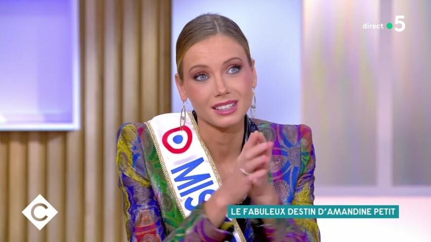 Amandine Petit (Miss France 2021) : cette douleur liée à sonsacre dont elle se souviendra longtemps