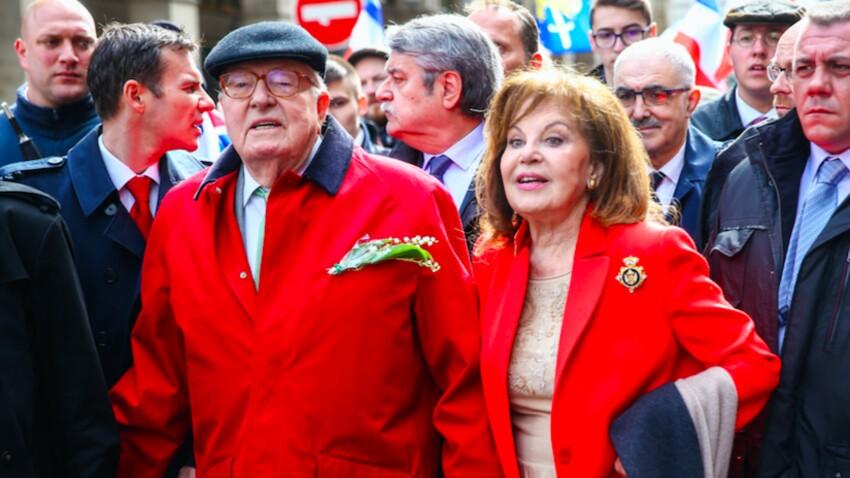 Jean-Marie Le Pen marié à 92 ans : qui est Jany, sa femme ?