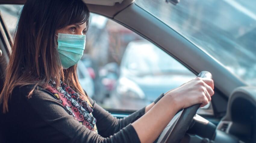 Covid-19 : combien de temps le virus persiste-t-il dans une voiture après un trajet de 15 minutes ?