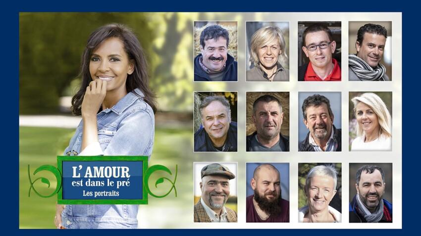 """""""L'amour est dans le pré"""" 2021 : découvrez les portraits des 12 candidats de la saison 16 - PHOTOS"""