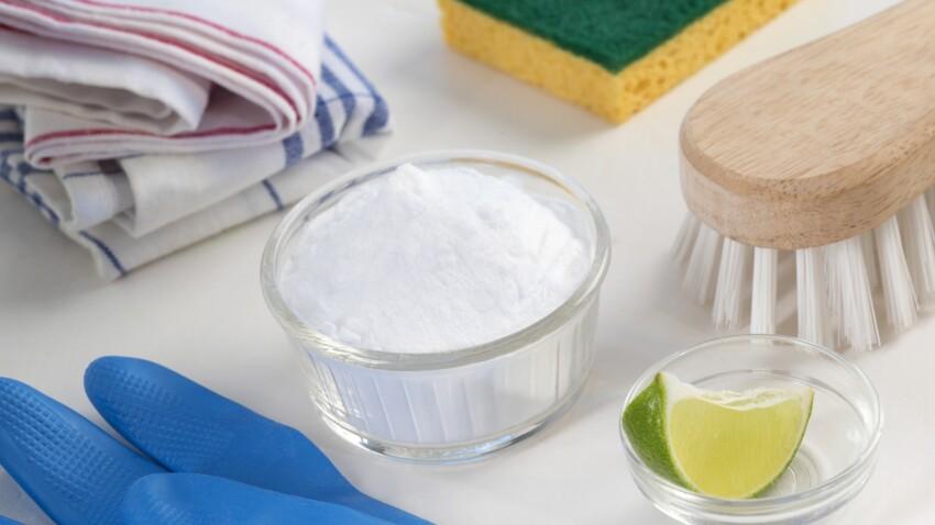 7 super astuces pour utiliser le bicarbonate de soude à la maison