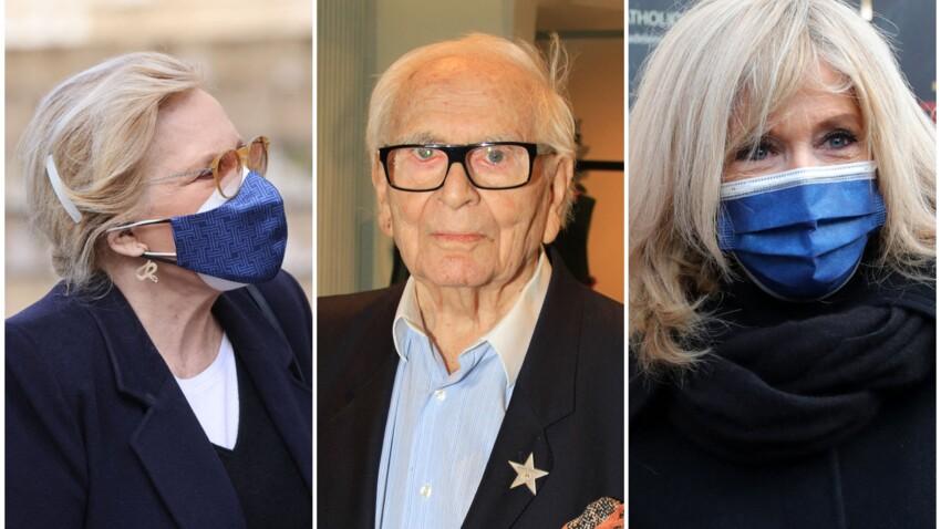 PHOTOS - Hommage à Pierre Cardin : Brigitte Macron, Sylvie Vartan et son mari, Massimo Gargia… tous réunis pour un dernier adieu