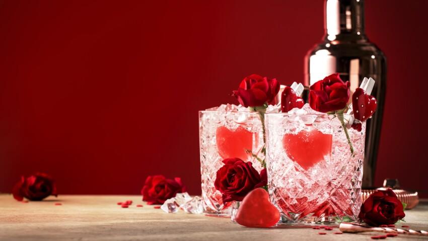 Nos cocktails spécial Saint-Valentin