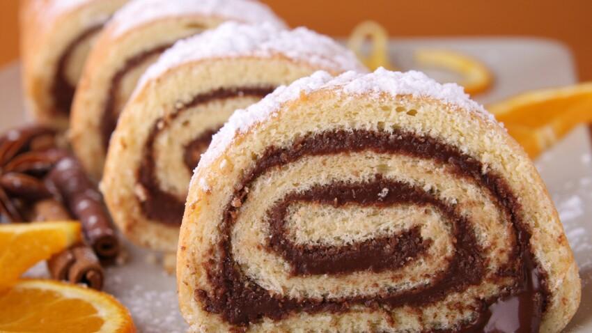 Cyril Lignac : sa recette facile et gourmande du roulé au chocolat