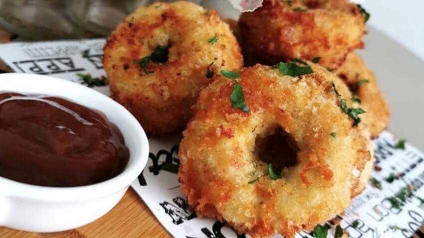 La délicieuse recette des donuts de poulet au fromage
