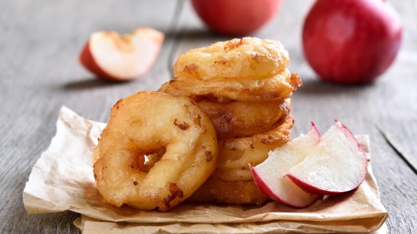 Mardi gras : nos recettes faciles de beignets aux pommes