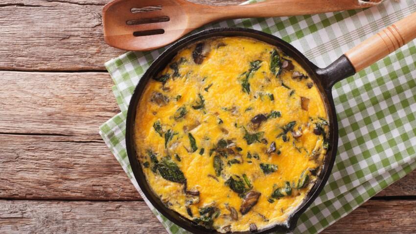 Comment faire une omelette pascale ?