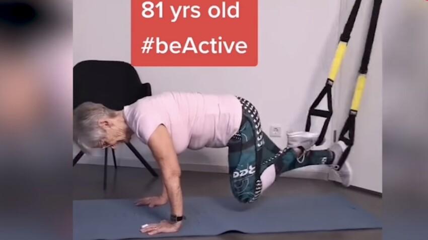 A 81 ans, elle cartonne sur Tik Tok avec ses vidéos de fitness