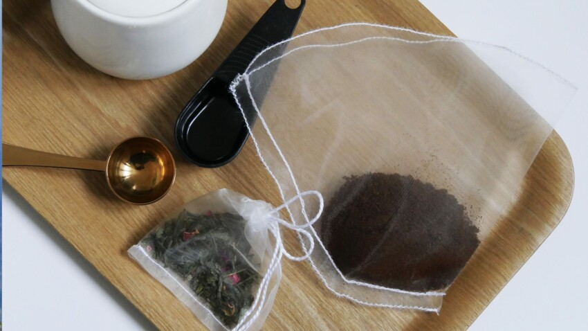 Comment faire des filtres à thé et à café réutilisables ?