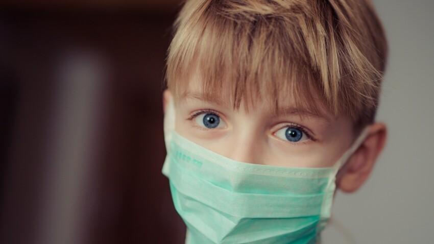 Covid-19 à l'école : quels masques les enfants peuvent-ils porter ?