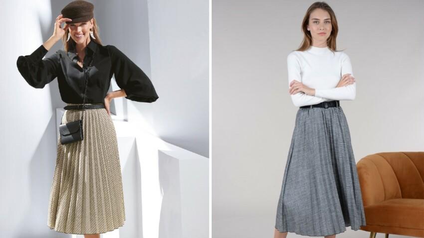 Comment porter la jupe plissée après 50 ans ?