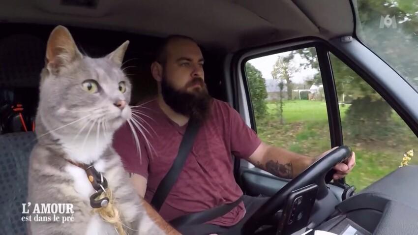 Valentin, l'agriculteur au chat et au cœur brisé, fait fondre les téléspectateurs