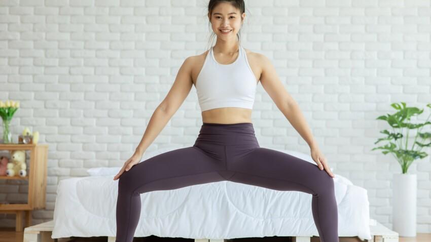 3 exercices faciles pour sculpter l'intérieur de ses cuisses