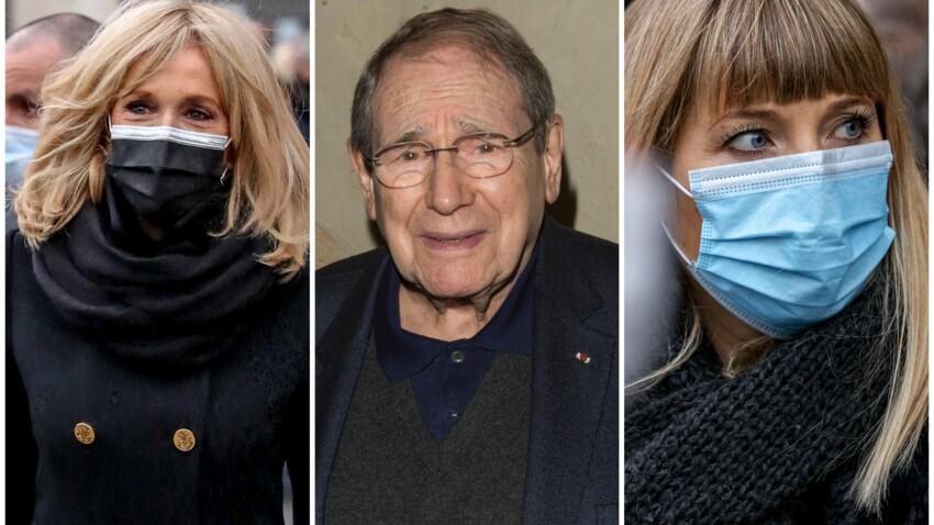 Brigitte Macron, Mélanie Page... les personnalités réunies pour un dernier adieu à Robert Hossein - PHOTOS