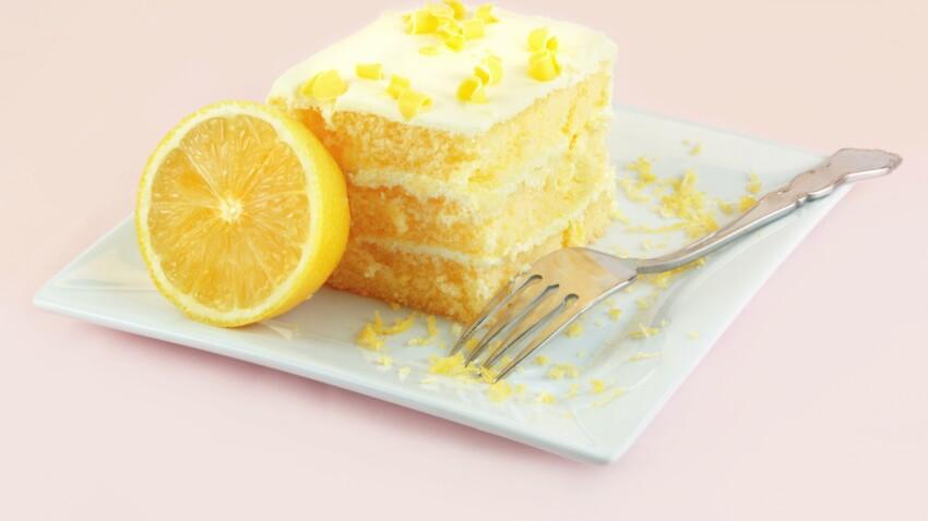 Le gâteau au citron de Cyril Lignac