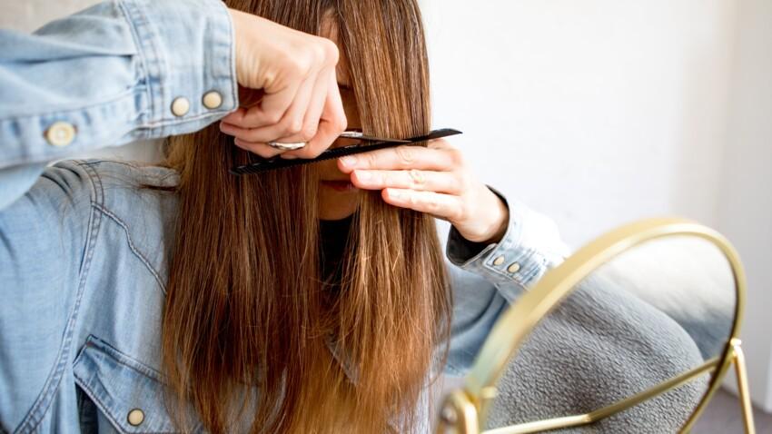 Les astuces géniales d'un coiffeur américain pour couper sa frange rideau à la maison