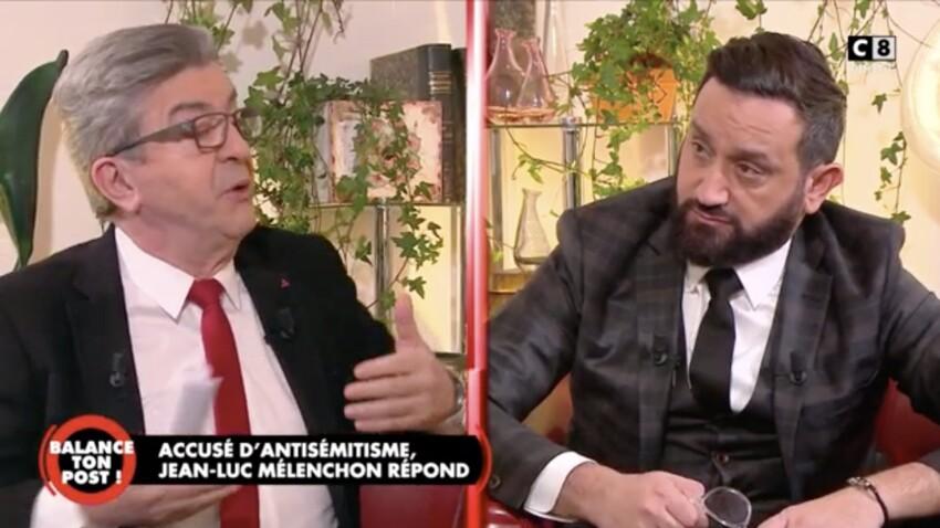 """Jean-Luc Mélenchon dans """"Balance ton Post"""" : la condition qu'il a imposée à Cyril Hanouna"""