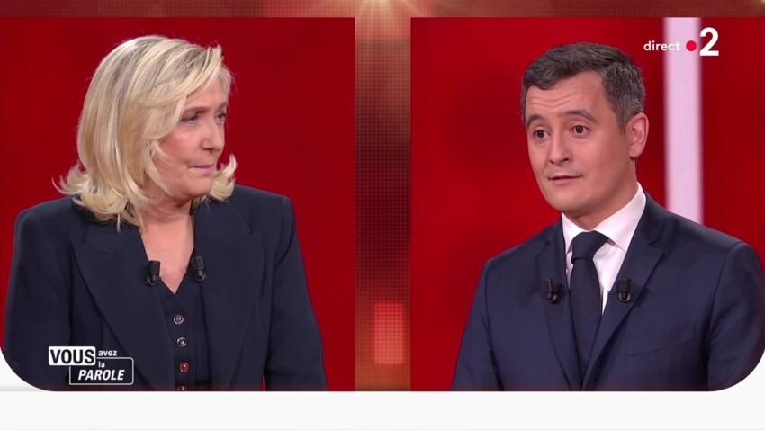 Gérald Darmanin et Marine Le Pen : pourquoi les téléspectateurs ont été déconcertés par le débat