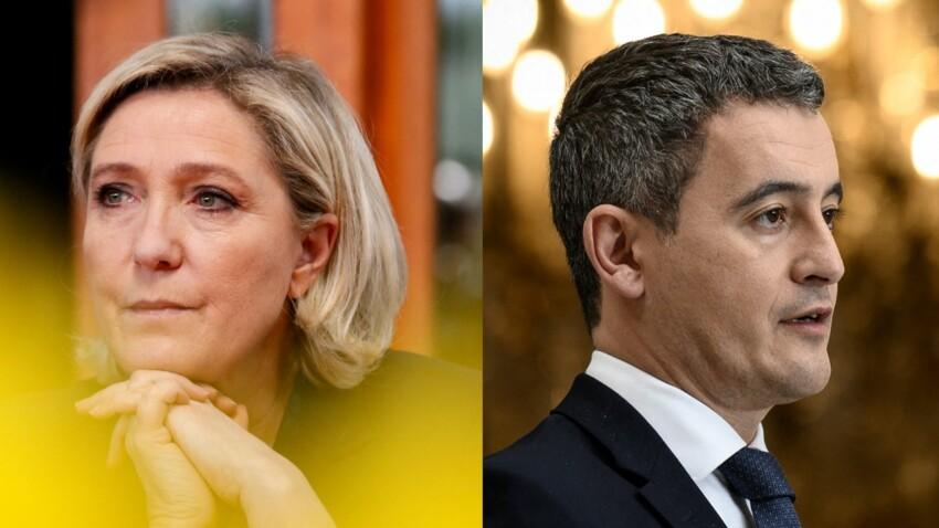 Marine Le Pen : ce que ses conseillers ont tenté de savoir avant le débat face à Gérald Darmanin