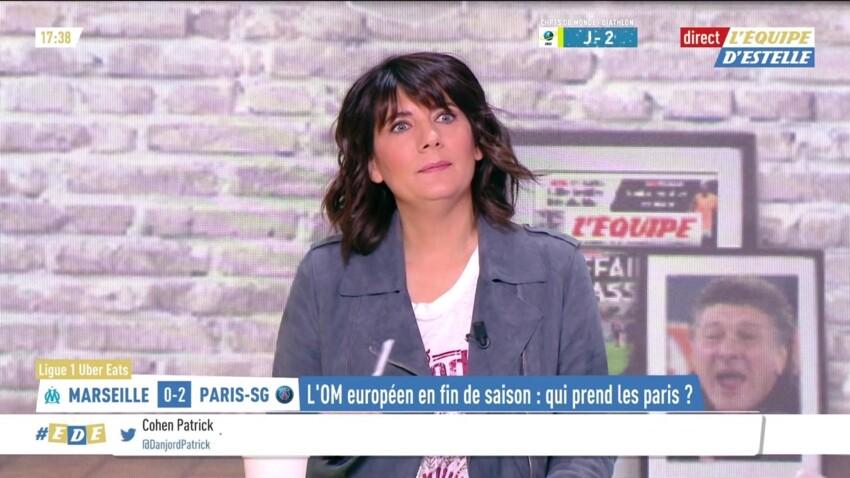 Estelle Denis : sa réaction inattendue à l'annonce du licenciement de Raymond Domenech