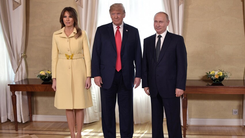 Donald Trump : ce dîner entre Melania Trump et Vladimir Poutine qui l'a rendu fou