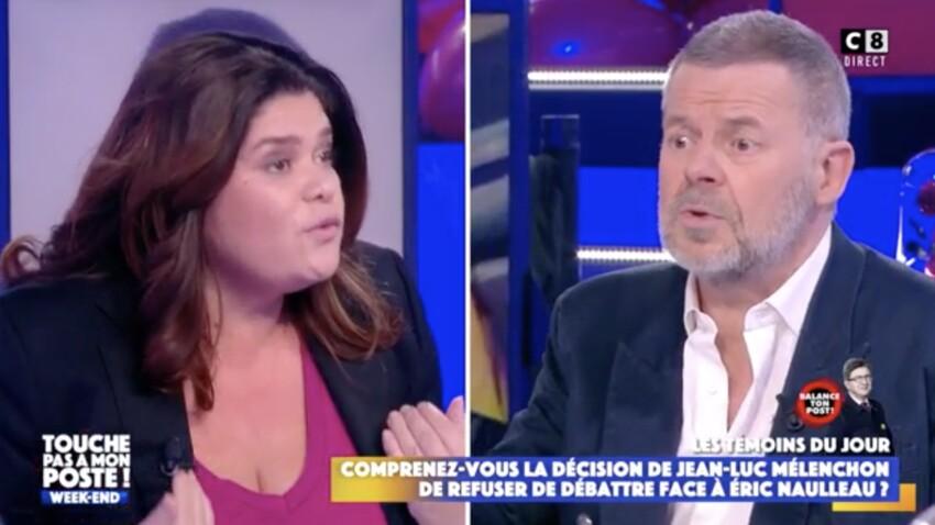 """Eric Naulleau """"agressé"""" par Jean-Luc Mélenchon : il a évité """"l'incident"""""""