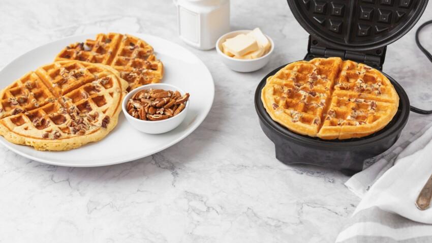 Brioche, omelette, cookies : nos idées gourmandes à tester avec un gaufrier