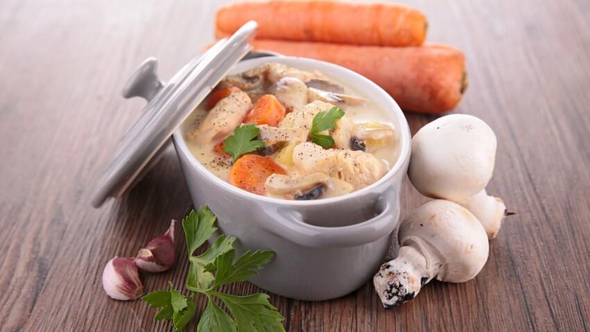 La recette de la blanquette de veau façon Cyril Lignac