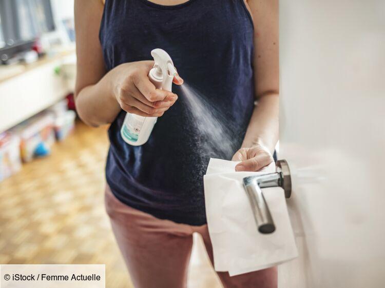 Transmission de la Covid-19 : les surfaces sont-elles particulièrement contaminantes ? Une étude répond - Femme Actuelle.fr