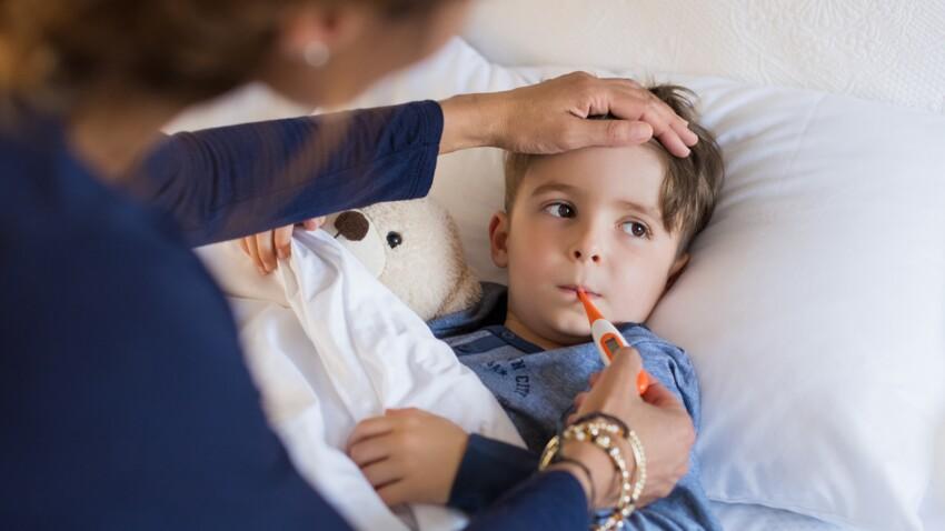 Fièvre, douleurs, chute : quand faut-il emmener son enfant aux urgences ?