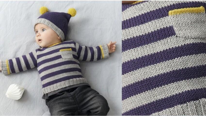 Layette : comment tricoter un pull en laine pour bébé ?