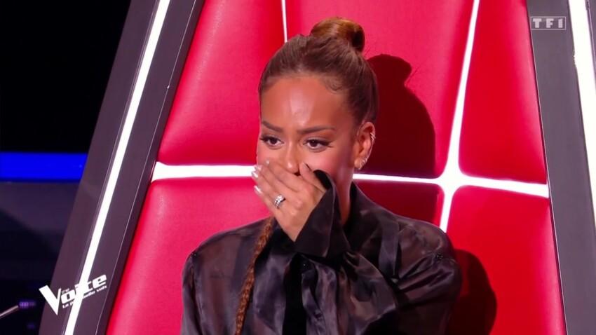 """""""The Voice"""" 2021 : Amel Bent choquée par la prestation de sa choriste... qu'elle ne reconnaît pas"""