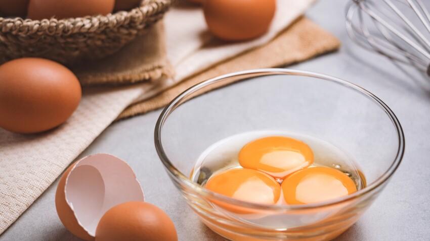 Comment séparer le blanc du jaune d'œuf avec une gousse d'ail ?