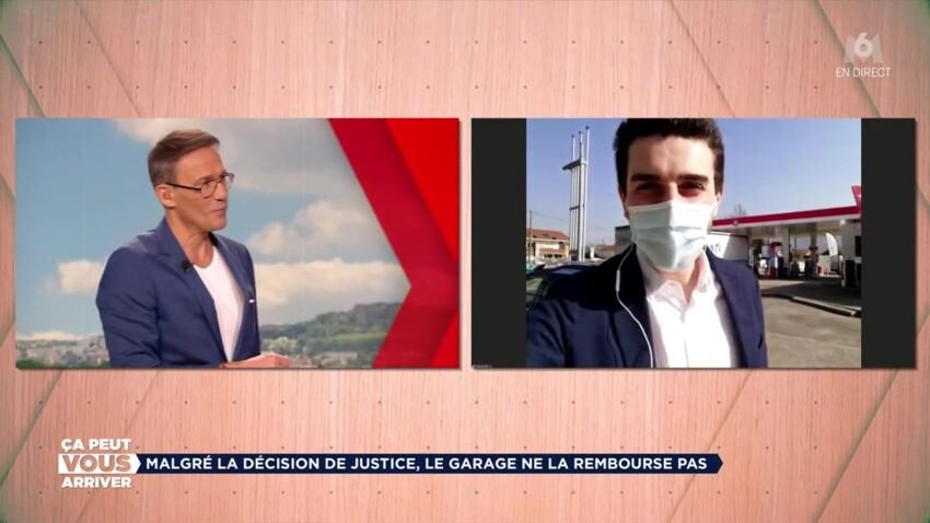 Julien Courbet : son envoyé spécial poursuivi en direct par un garagiste